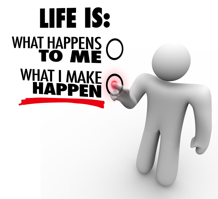 Life is what happens ...